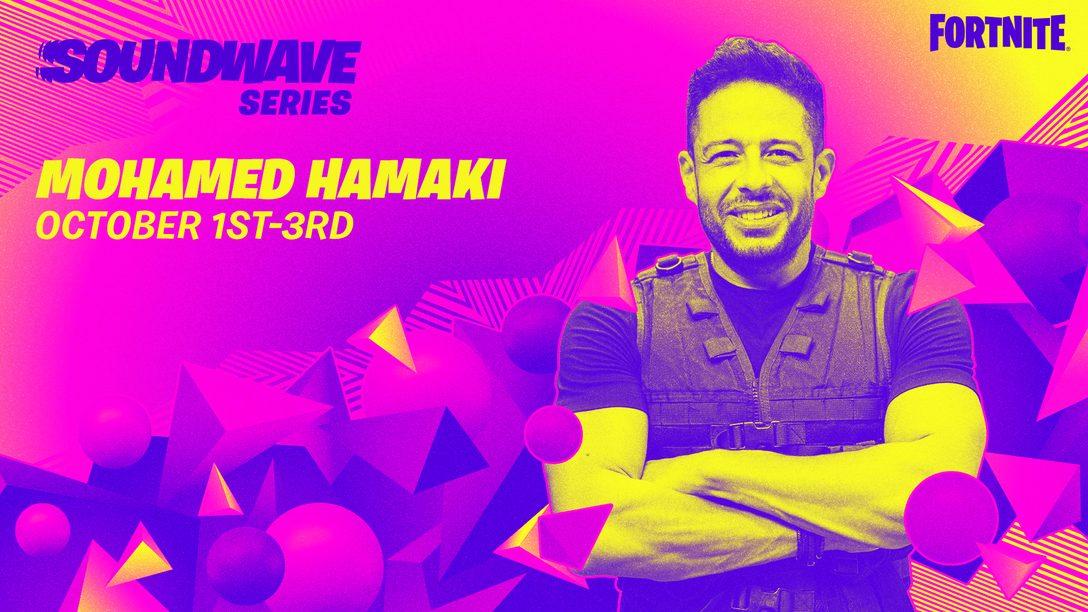 ¡Hamaki toma el escenario en la serie Onda musical de Fortnite!