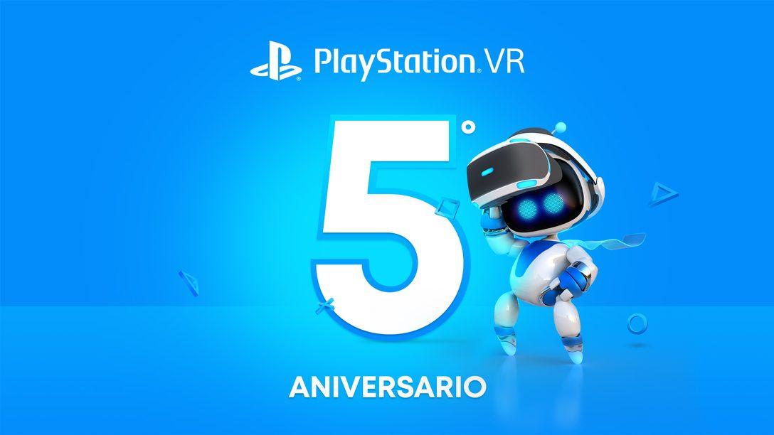 Celebramos cinco años de PlayStationVR