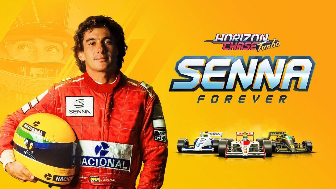 La expansión Horizon Chase Turbo: Senna Forever se lanzará el 20 de octubre